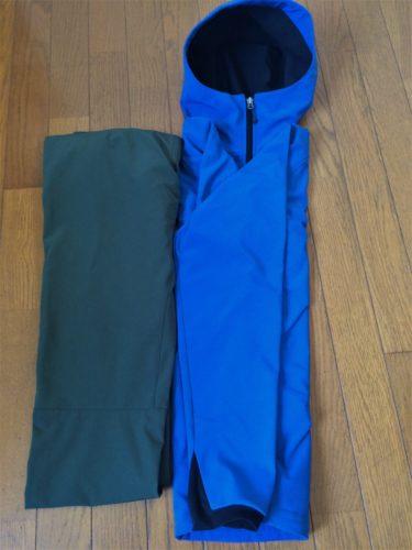fishingstyle,ノースフェイス,V2フーディジャケット,アウトドア,釣り,レインウェアパッキング