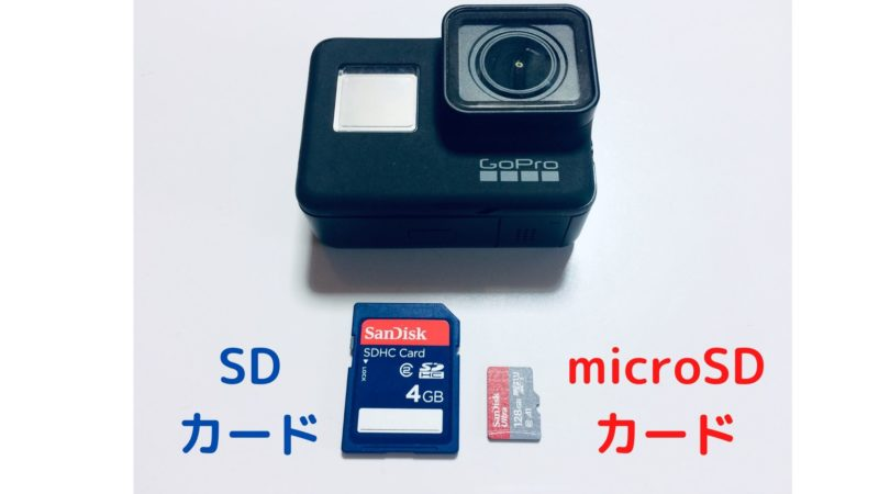 GoProマイクロSD