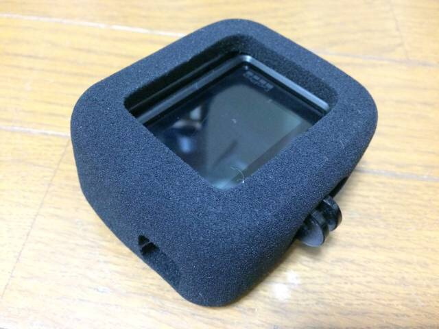 GoPro防風スポンジケース