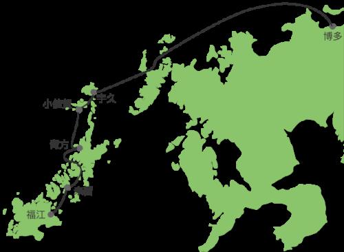 五島列島福江 太古フェリー